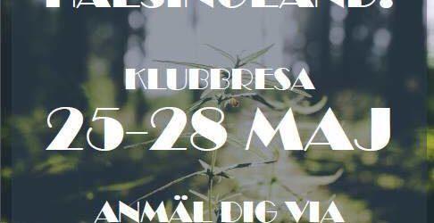Klubbresa till Hälsingland 25-28 maj