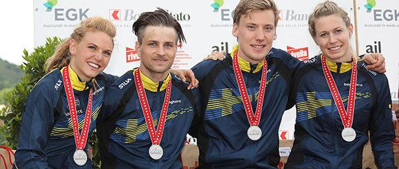 Webb-TV: Karro tog EM-silver i sprintstafett