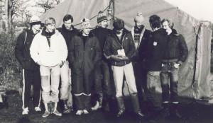 Jonas, Bengt, Peter, Tord, Anke, Uffe, Lasse, Leffe, Ensio.